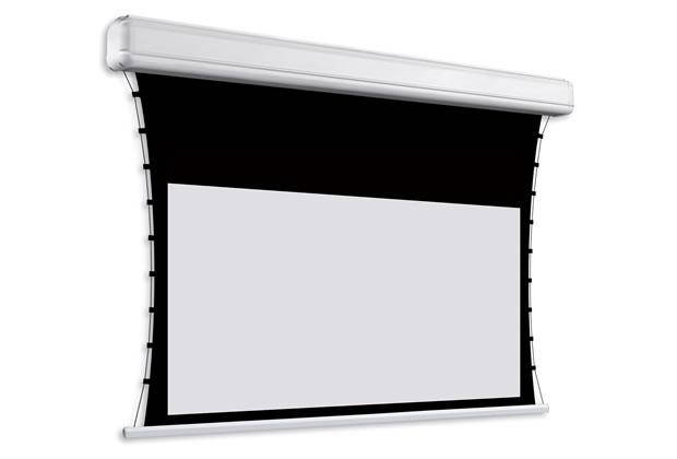 Ecran de projection motorisé tensionné