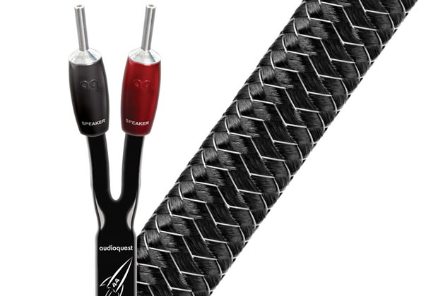 Câbles d´enceintes montés 2x2m
