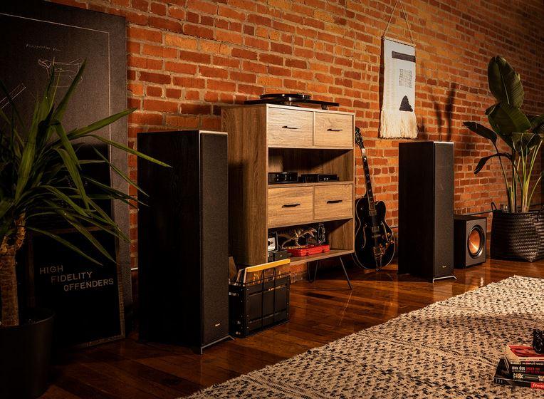 Klipsch R-610F Paire d'enceintes colonnes - Hi-Fi, Home